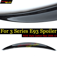 E93 Rear Spoiler Wing Lip Tail Ride style Carbon fiber For BMW 2Door Coupe 320i 323i 325i 328i 330i 335i 06-13