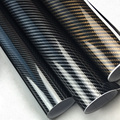 5D Auto aufkleber innen film carbon fiber 50*200 innen control aufkleber für auto helle oberfläche wasserdichte farbwechsel film-in Autoaufkleber aus Kraftfahrzeuge und Motorräder bei