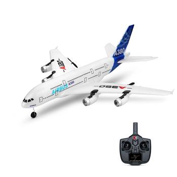 Airbus 510mm Wingspan 2.4GHz 3CH RC Airplane Fixed Wing RTF With Mode 2 Remote Controller Scale Aeromodelling