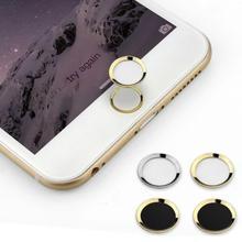 Фирменная Новинка Кнопка возврата на домашнюю страницу кнопку, чтобы вставить клавиша Home наклейки плюс кнопку распознавания отпечатков пальцев для iPhone 5S 6 6s 7 Plus#1109