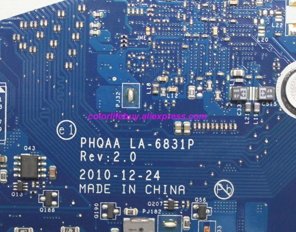 Image 4 - Genuine K000125640 PHQAA LA 6831P w N12P GS A1 GPU Laptop Motherboard Mainboard for Toshiba Satellite P750 P755 Notebook PC-in Laptop Motherboard from Computer & Office
