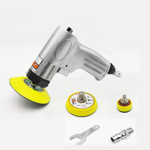 Car Poishing 3 Inches 90 Degree Air Sander Pneumatic Polisher Machine Air Grinder Polishing Tool For Wood And Glass polishing
