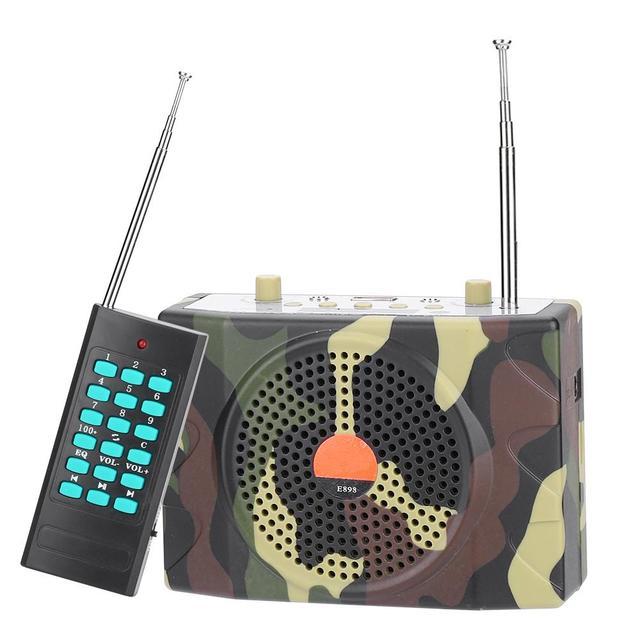 38 W sonido inalámbrico de Control remoto altavoz electrónicos aves señuelo de caza llamadas MP3 altavoz remoto controlador Kit