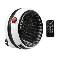 900W Mini Electric Fan Heater Wall Handy Timing Stove Radiator Desktop Household Winter Room Warmer Fan For Home Office