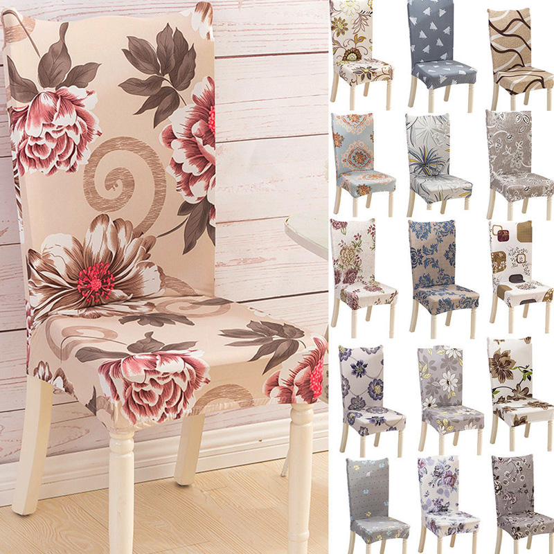 Dining Room Wedding Banquet Chair Covers Party Decor Seat Cover Stretch Spandex