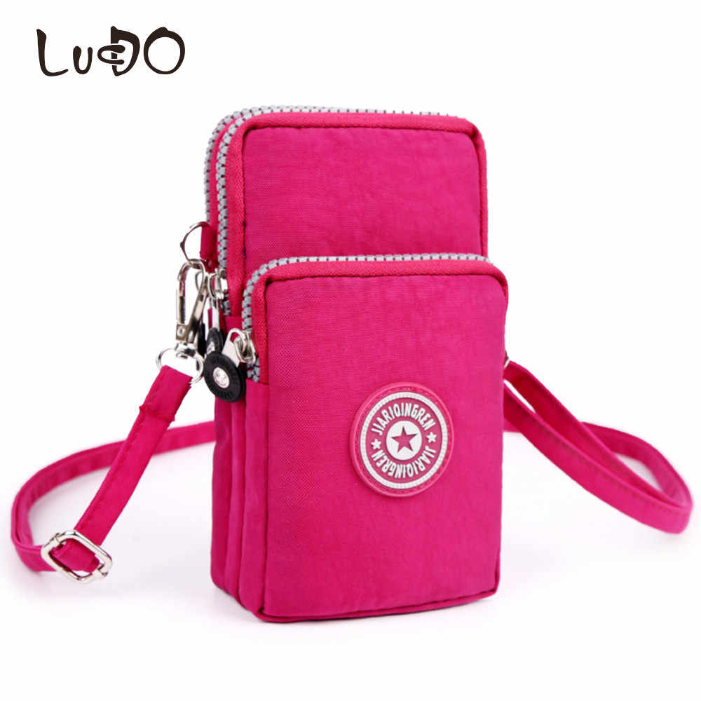 LUCDO мини женская сумка, холщовая сумка-мессенджер, дамская сумочка для мобильного телефона, кошелек, клатч, карман, дорожная сумка, Feminina Bolsos Mujer