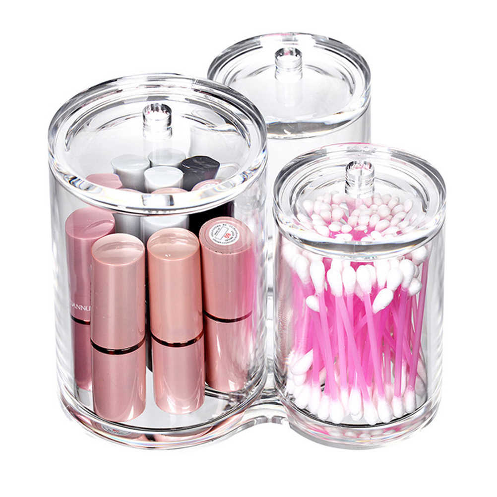 Clear Acrylic Multipurpose Makeup Brush Holder Makeup Accessory Organizer Container(8025)