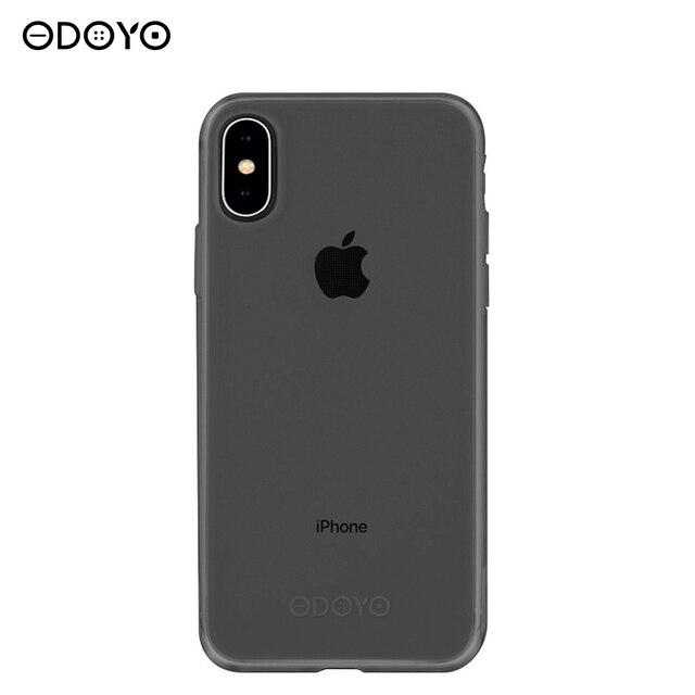 Защитный чехол SOFT EDGE PROTECTIVE для iPhone Х graphite black