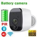 JIENU HD 1080 P экшн-камера с Wi-Fi IP Камера Беспроводной P2P монитор сети видеонаблюдения Камера дома с мобильным пультом управления, Батарея Бег