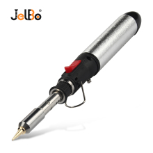 JelBo 1300 Degree Gas Blow Torch Soldering Solder Iron Cordless Butane Tip Tool Welding Pen Burner 12ml Kit