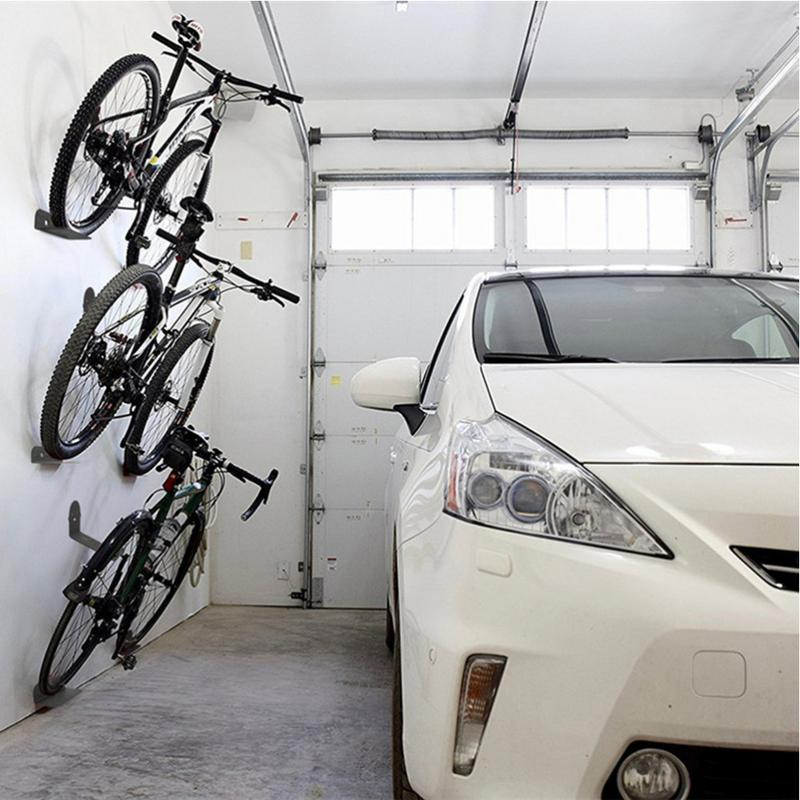 Bicycle-Holder Stand Wall-Rack Mountain-Bike-Rack Work Mtb Load-Bearing