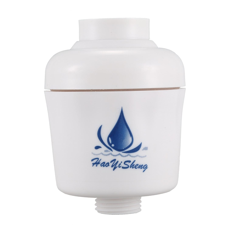 In-line Bathroom Shower Filter Purifier Water Bath Shower Facuet Softener Anti-chlorine Anti-scale Filter Bathing Water Filter