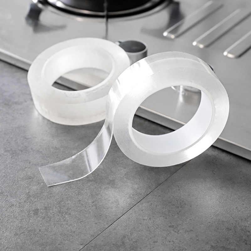 קיר פינת קו מדבקת מדבקת PVC עמיד למים מטבח קלטת אביזרי אמבטיה עצמי דבק שקוף מדבקות