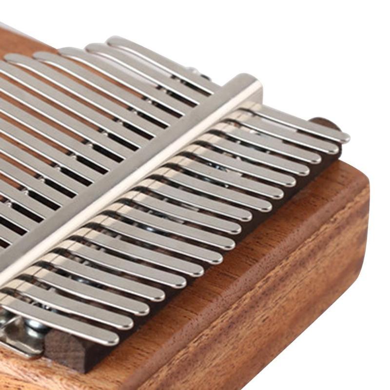 New Kalimba DIY 17 Keys Replacement Manganese Steel Thumb Keys Piano Wooden Bridge Metal Musical Instruments Accessories