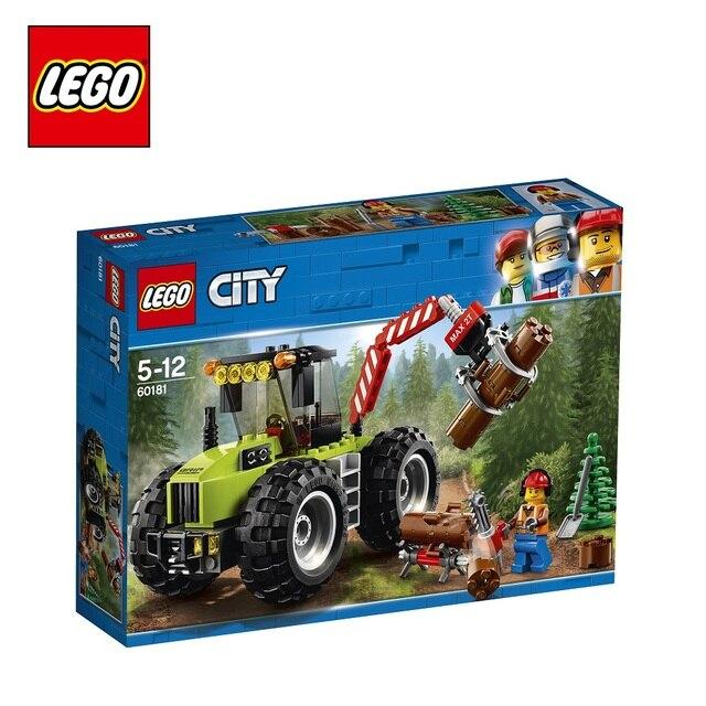Конструктор LEGO City Great Vehicles 60181 Лесной трактор