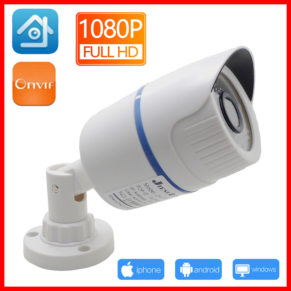 JIENUO ip Camera HD Cctv Security Outdoor Waterproof Video Poe 720P 960P 1080P Surveillance IPCam Infrared Home Surveillance IPC