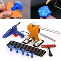 JXLCLYL Car Body Paintless Dent Repair Removal Glue Tabs Puller Lifter T Bar Kit