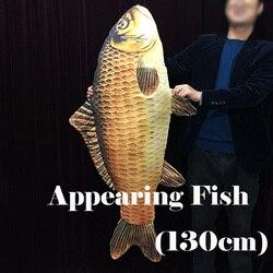 Erscheinen Fisch (130 cm, Große) Einfach Magische Tricks, Magie Illusionen Für Magier, Magie Requisiten, zauberer Kits, Close Up Magie Spielzeug