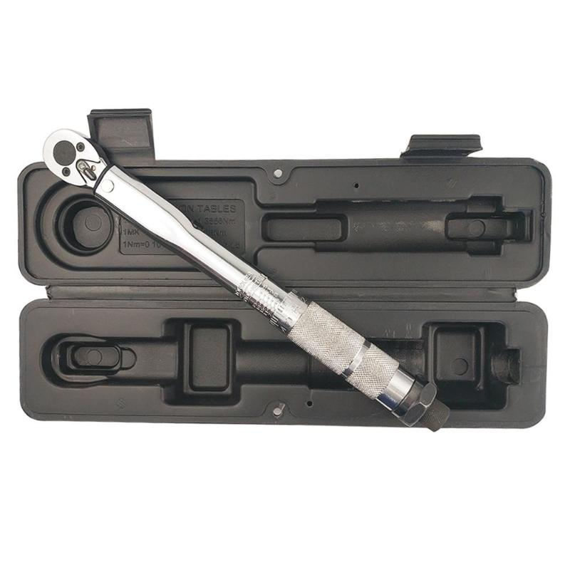 1/4'' Multi-use Drive Torque Wrench Adjustable Hand Spanner Ratchet Repair Tools Torque Wrench Repairing Hand Tools