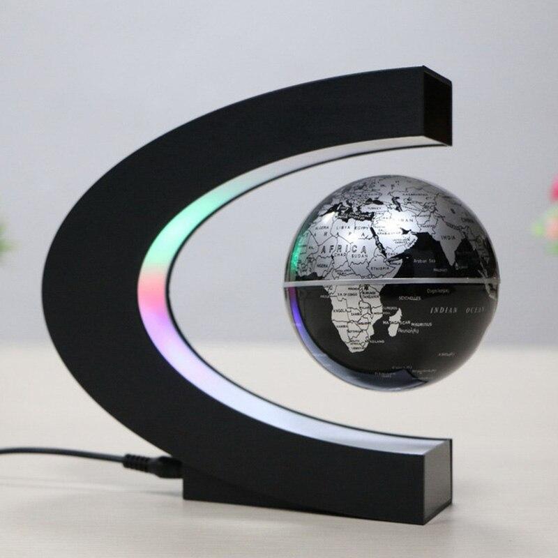 Globe de lévitation magnétique jouet éducatif pour enfants en forme de C 3 pouces jouets éducatifs pour enfants