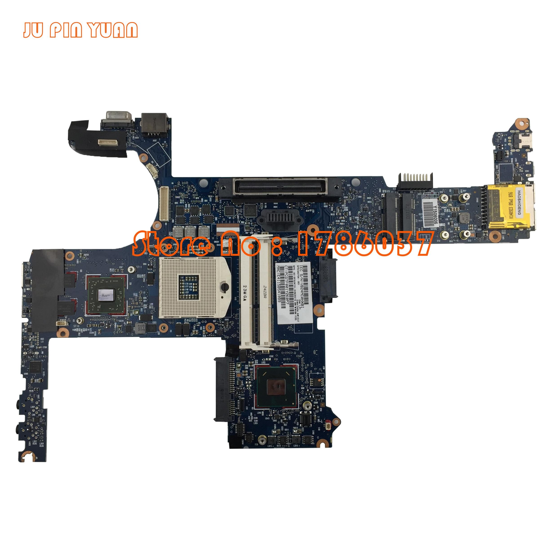 JU PIN YUAN 642754-001 6050A2398501-MB-A02 HP EliteBook 8460P 6460B klēpjdatora mātesplatē Visas funkcijas ir pilnībā pārbaudītas