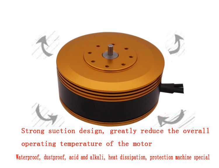 TYI 8015 KV150 Brushless Motor Special for Large Load Mulit axis Agricultural Protection Drone-in Parts & Accessories from Toys & Hobbies
