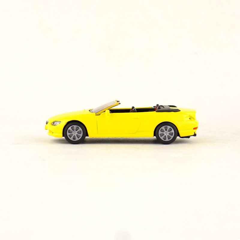 Gratis Pengiriman/Siku 1007 Mainan/Diecast Logam Model/1:55 Skala/645i Cabrio Rental Mobil/Pendidikan koleksi/Hadiah/Anak-anak