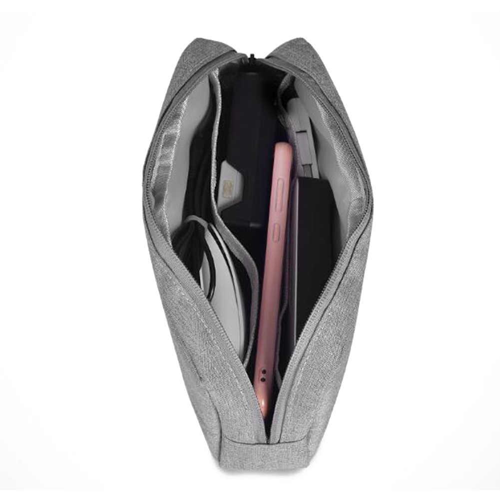Портативные цифровые аксессуары для путешествий гаджет Организатор устройств USB кабель зарядное устройство дорожный контейнер для хранения Кабельный органайзер сумка