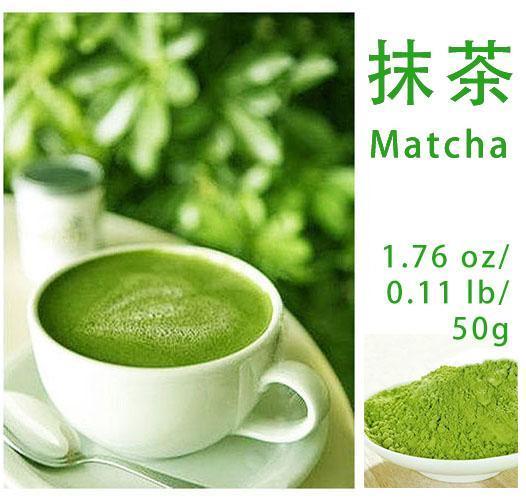 50g/lot China 100% Pure Organic Natural Matcha Green Tea Powder Bag ( Vacuum Sealed )