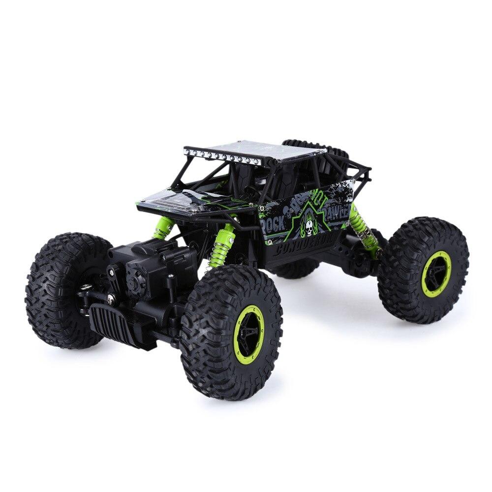 Vente chaude Rc camions 2.4g conduite course Double moteurs conduire Bigfoot télécommande camion modèle tout-terrain véhicule camion jouet