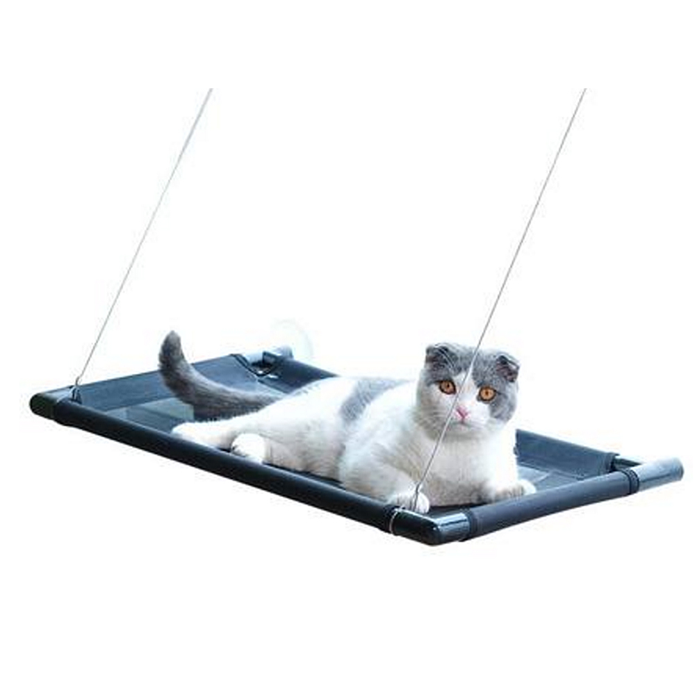 Cat Lounger Cat Hammock Bed Mount Window Cat Lounger Suction Cups Warm Bed For Pet Cat Rest House Soft Breathbable Bed Cushion