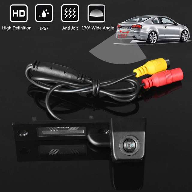 Wide Angle CCD Car Auto Reverse Backup Rear View Camera For VW Transporter T5 T30 For Caddy Passat B5 For Touran Jetta