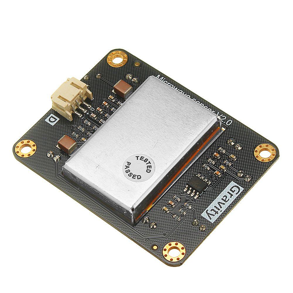 CLAITE SEN0192 Microwave Motion Sensor Module Non-contact Detection Long  Detection Distance and High Sensitivity with Light DC5V