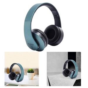 Image 5 - Bluetooth Kopfhörer Über Ohr Hallo fi Stereo Wireless Headset Faltbare Weiche Memory Protein Ohrenschützer Eingebaute Mic Noise Cancelling