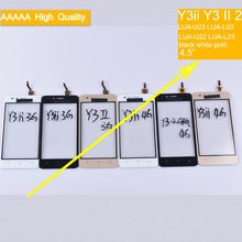 10Pcs For Huawei Y3ii Y3 II 2 LUA-U23 LUA-L03 LUA-U22 LUA-L23 Touch Screen Panel Sensor Digitizer Front Glass Touchscreen