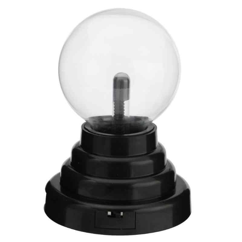 Новинка Стекло магический плазменный шар света 3 дюймов настольные лампы Sphere ночник дети подарок для Новый год магический плазменный ночника