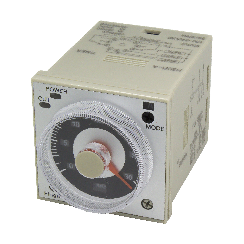 H3CR-A 11 Pin Time Relay H3CR Series Delay Timer AC 100-240V DC 24V 12V