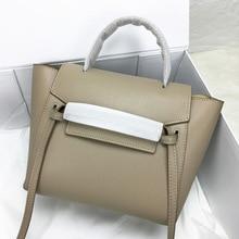 купить Kajie 2018 Trapeze Catfish Luxury Handbags Women Genuine Leather Shoulder Bag Ladies Hand Bags Designer Famous Brands Tote Bag по цене 3233.15 рублей