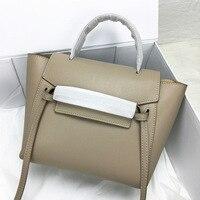 Kajie 2018 Trapeze Catfish Luxury Handbags Women Genuine Leather Shoulder Bag Ladies Hand Bags Designer Famous Brands Tote Bag