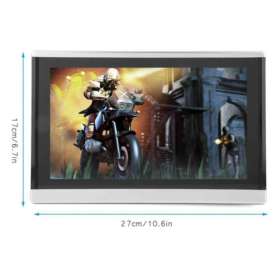 Автомобильный монитор 10,1 дюймов HD Автомобильный подголовник dvd-плеер портативная цифровая Подушка монитор araba aksesuar