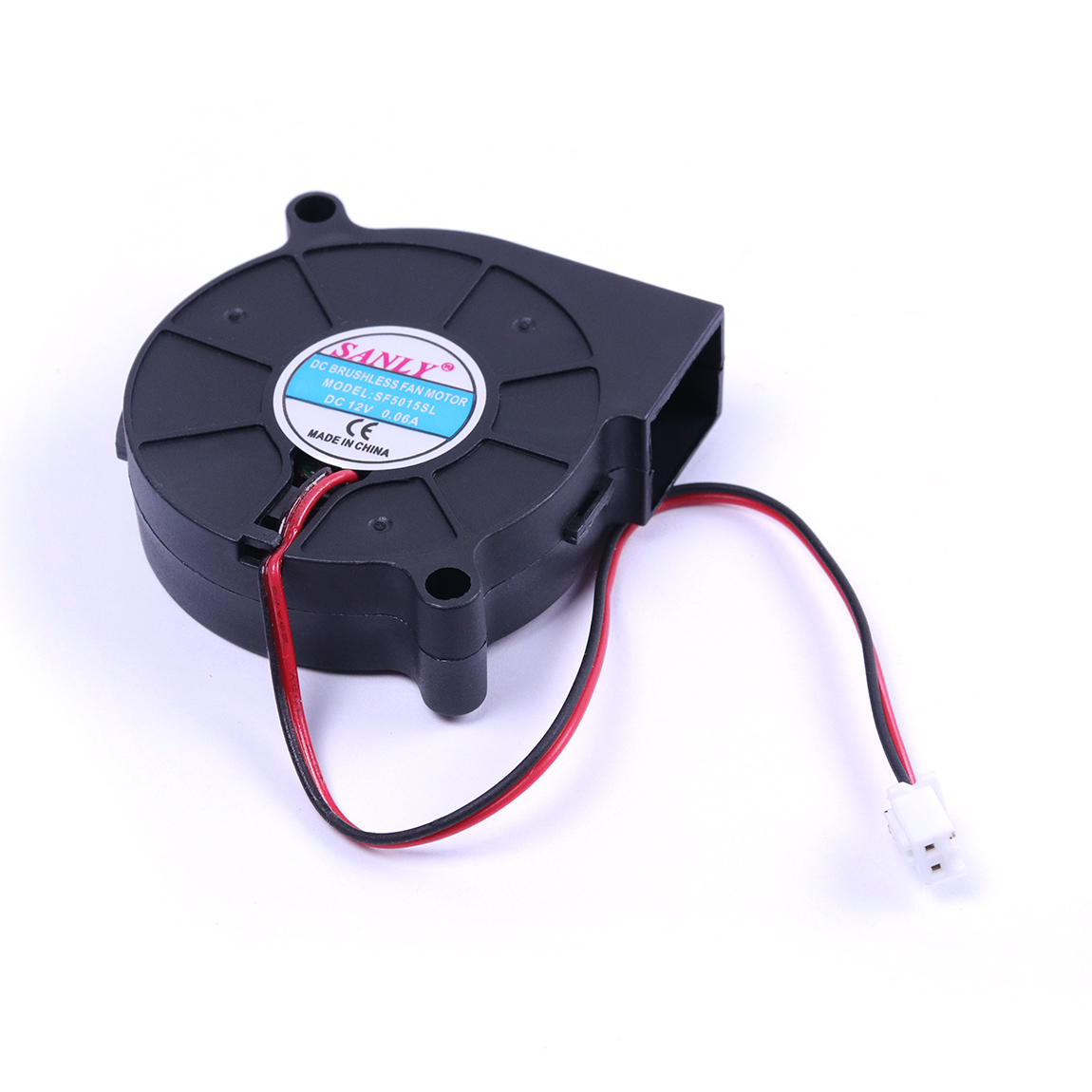 2Pcs/lot SF5015SL DC 12V 0.06A Cooling Turbine Blower Fan 50x50x15mm Snail Fan Quiet Blower Fan For Heater