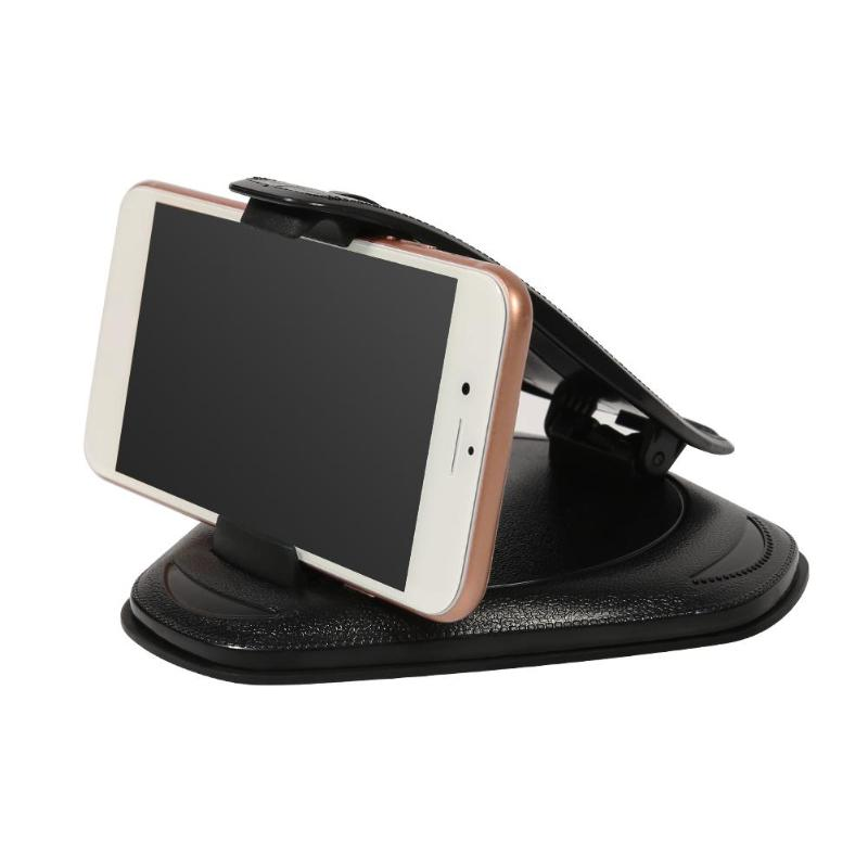 Anti Slip Car Phone Holder Stands Clip Mount Support Dashboard Smartphone GPS Bracket Support Telefoon Holder Auto Accessories