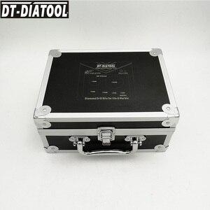 Image 5 - DT DIATOOL 6pcs/ערכת ואקום Brazed יהלומי קידוח ליבה סטי 5/8 11 חוט חור מסור מעורב גודל בתוספת 25mm אצבע Bits אריח