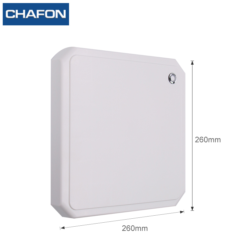 Image 3 - CHAFON 10M uhf rfid reader long range RS232 WG26 USB built in 9dbi circular antenna support firmware upgrade for car parking-in Control Card Readers from Security & Protection