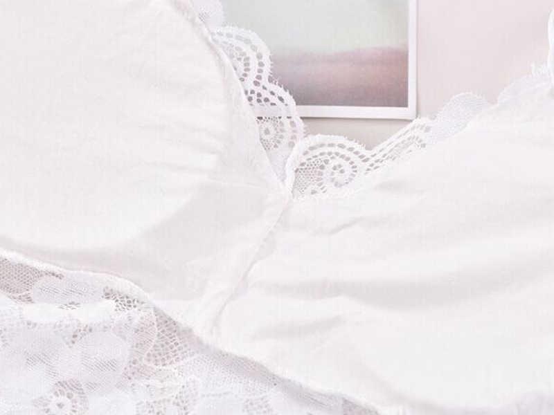 2019 패션 드레스 여성 레이디 레이스 스트랩 자르기 탑 브라 튜브 조끼 가슴 랩 bandeau 소녀 조끼 속옷 밤 정장