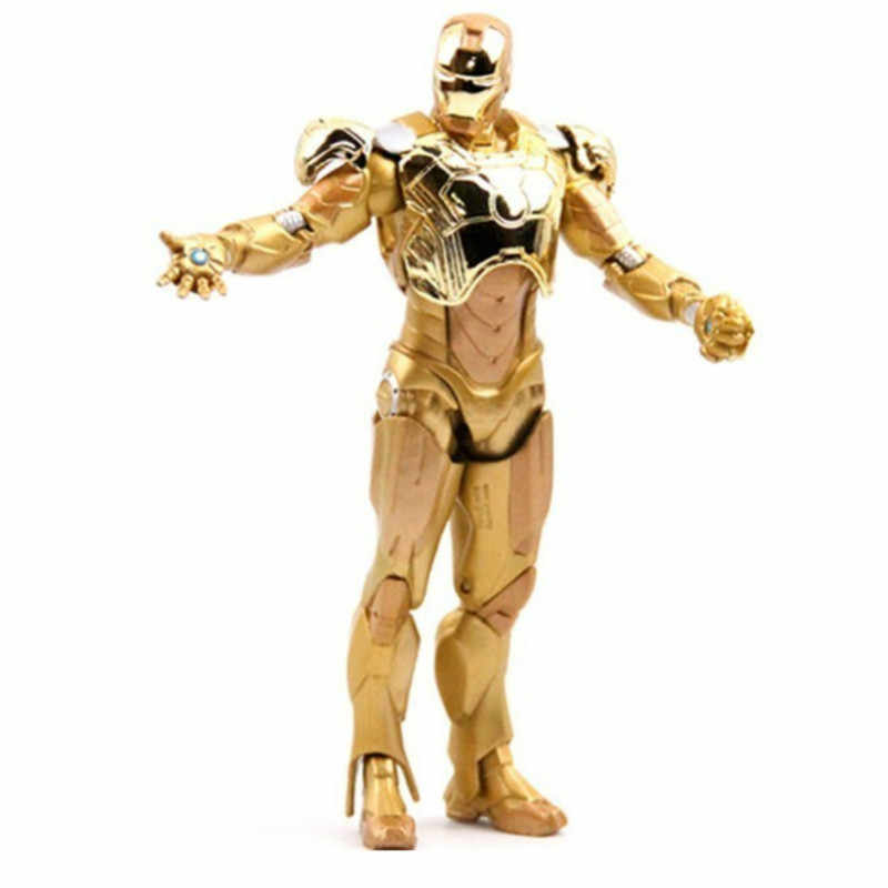 FL-1 Avengers 4 Iron Man MK44 Anti-Hook Armor Can Move The Doll Hand Model Animation Ornaments Figma Joints Be Active Unisex