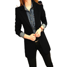 Elegant Blazer Feminino Women Single Button Long Sleeve Blazer Notched Collar Coat Outerwear Female Office Lady Tops Plus Size plc 6es7212 1bb23 0xb8 module