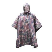 34949914d4b Poncho impermeable con capucha de camuflaje multifuncional para  escalada/senderismo/Camping/ciclismo (verde)