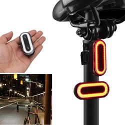 OUTERDO XANES STL03 100LM IPX8 памяти велосипедный фонарь 6 режимов Предупреждение светодиодная USB зарядка 360 Вращение велосипед свет аксессуар
