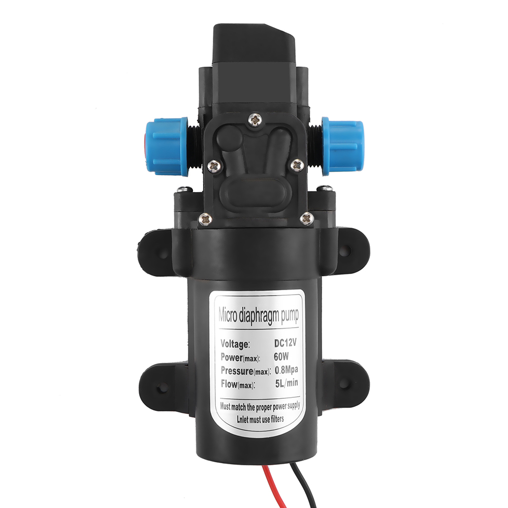 Electric Water Pump DC 12V 60/100W High Pressure Micro Diaphragm Ntelligent Water Pump Automatic SwitchElectric Water Pump DC 12V 60/100W High Pressure Micro Diaphragm Ntelligent Water Pump Automatic Switch